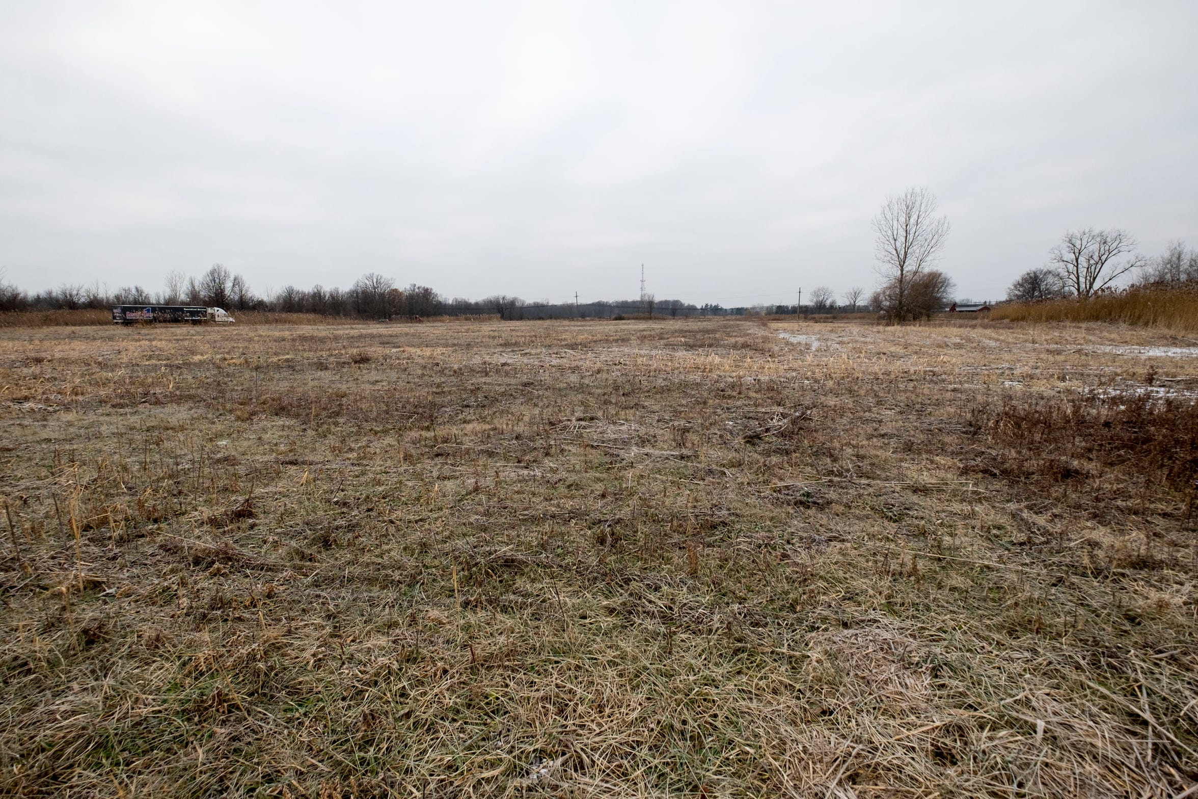 There is an 80-acre property in Ira Township available for developing.