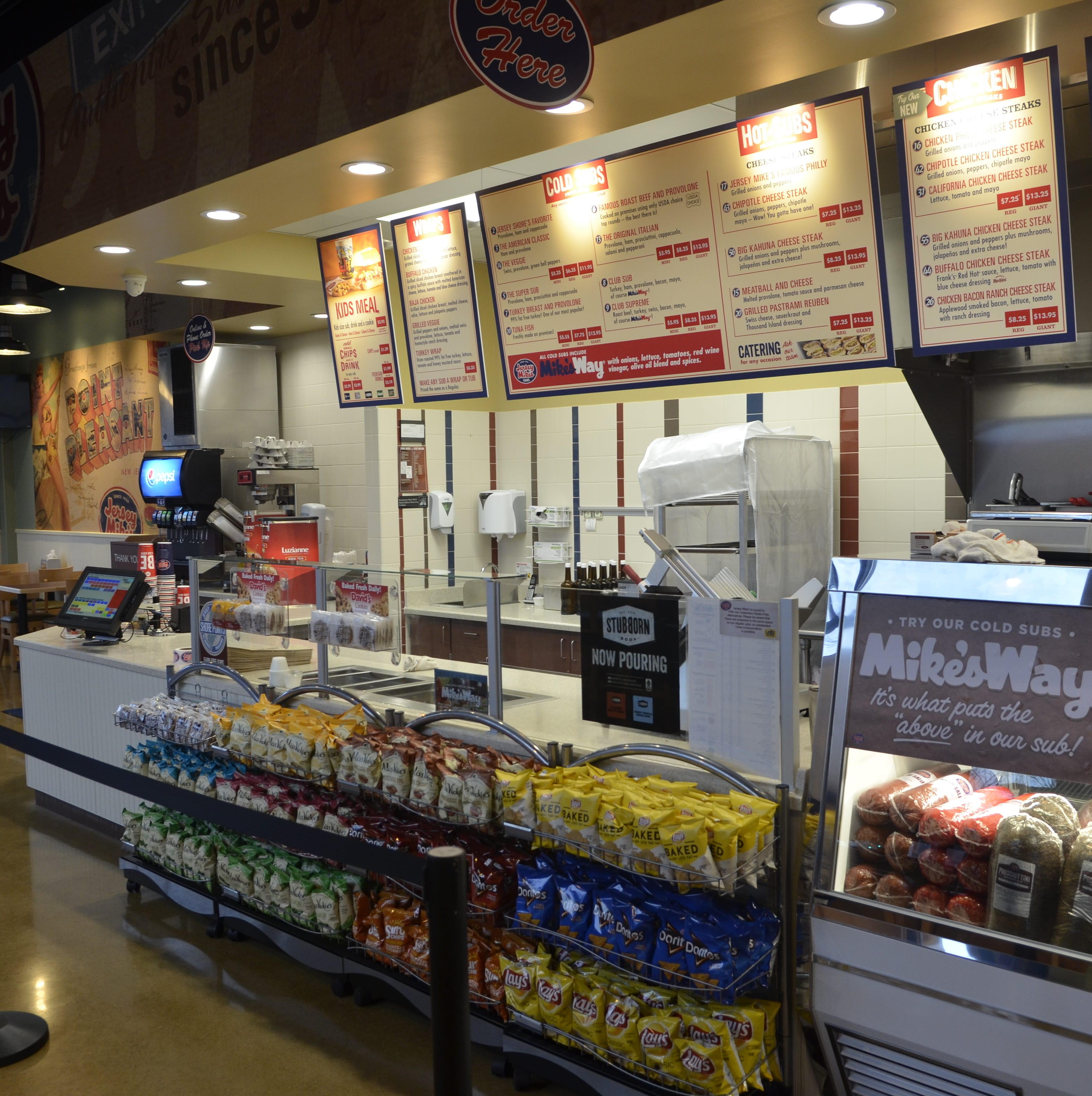 Jersey Mike's grand opening in Fort Gratiot