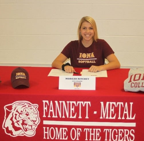 Iona commit Ritchey becomes second Fannett-Metal Division I scholarship earner