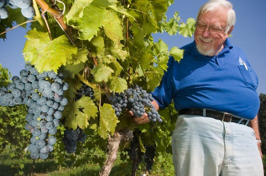 Dick Naylor, owner of Naylor Wines, passes at 90