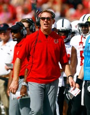 Arkansas State head coach Blake Anderson is in his fifth season with the Red Wolves.