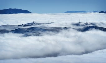 See a time lapse view of the inversion layer over the Washoe Valley and the Truckee Meadows on Dec. 11, 2018.