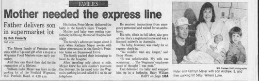 Baby Story Nov 7 1993