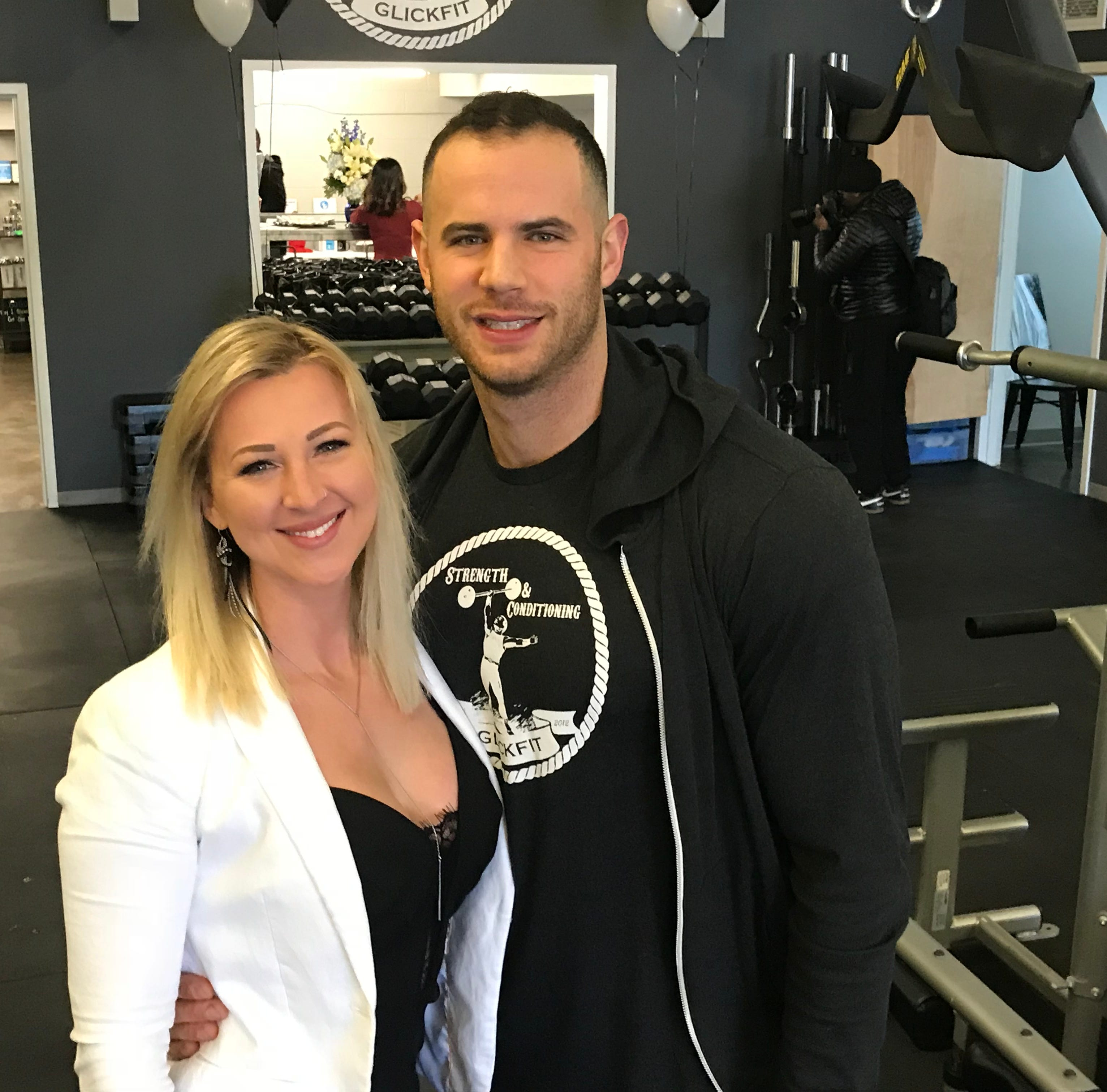 Instead of paying for a wedding, model couple open gym in South Wedge