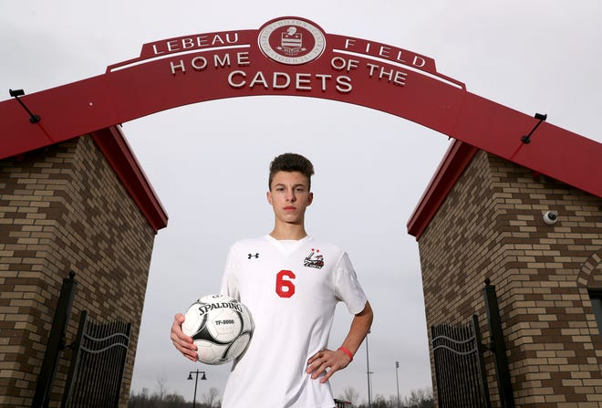 Hilton's Justin Arilotta was named the All-Greater Rochester Boys Soccer Player of the Year in 2018.