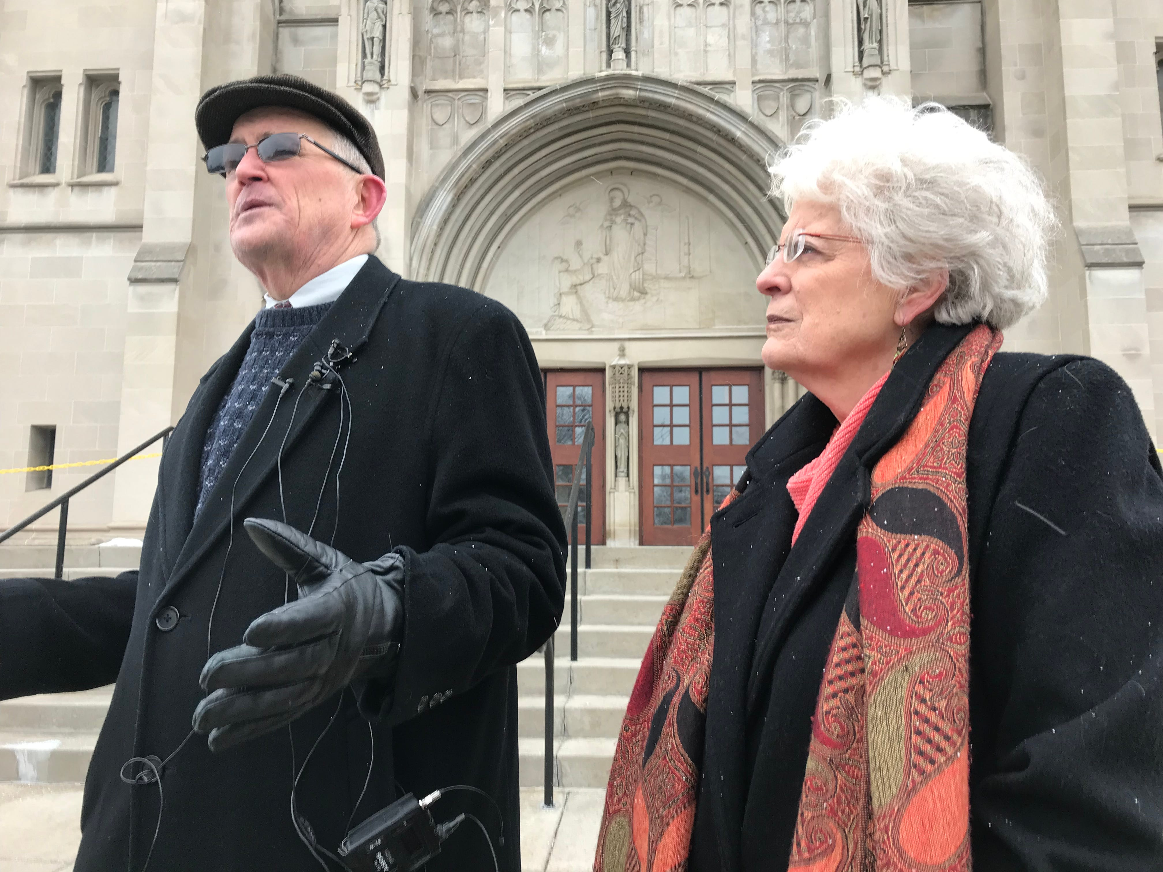 Victims call for Bishop Matano to release sex abuse files