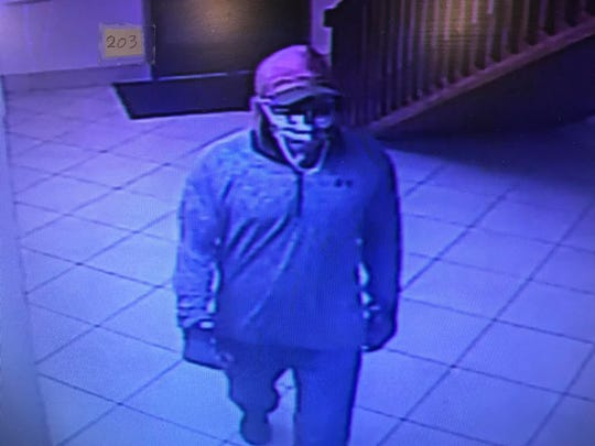 Those who might recognize this robbery suspect are asked to contact Anderson police detectives.