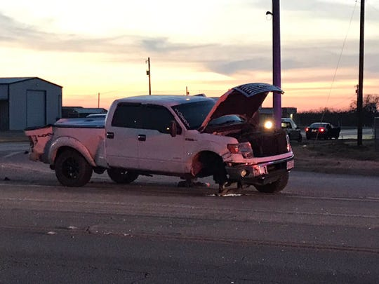 A pickup and Irion County ISD bus collided just after 5 p.m. Monday, Dec. 10, 2018 north of San Angelo on State Highway 208. The students were en route to Robert Lee for junior high basketball games.