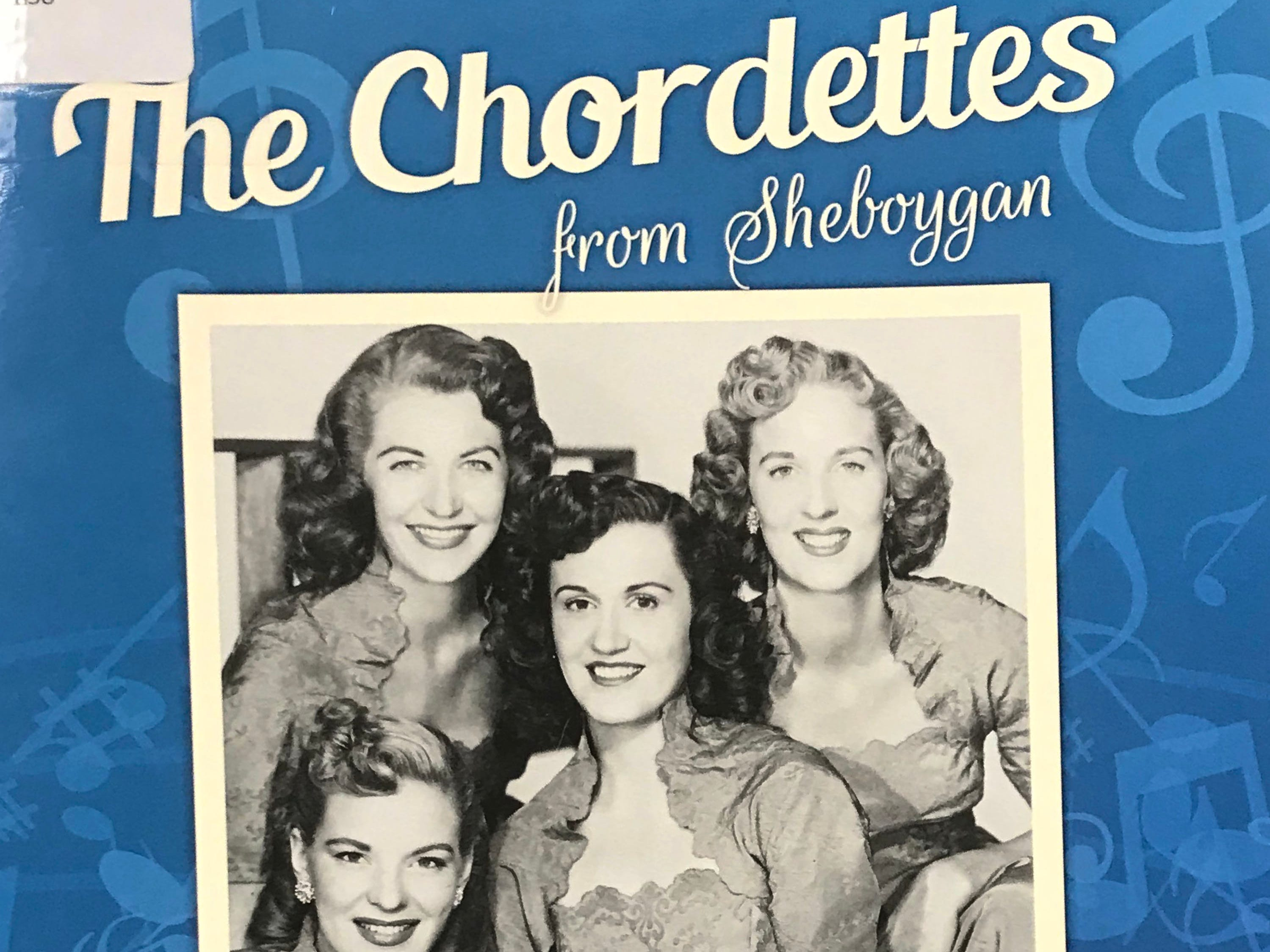 The late Scott Lewandoske wrote a book on the Chordettes that never got published due to issues with copyright of art. The proof copy is pictured at the Sheboygan County Historical Research Center.