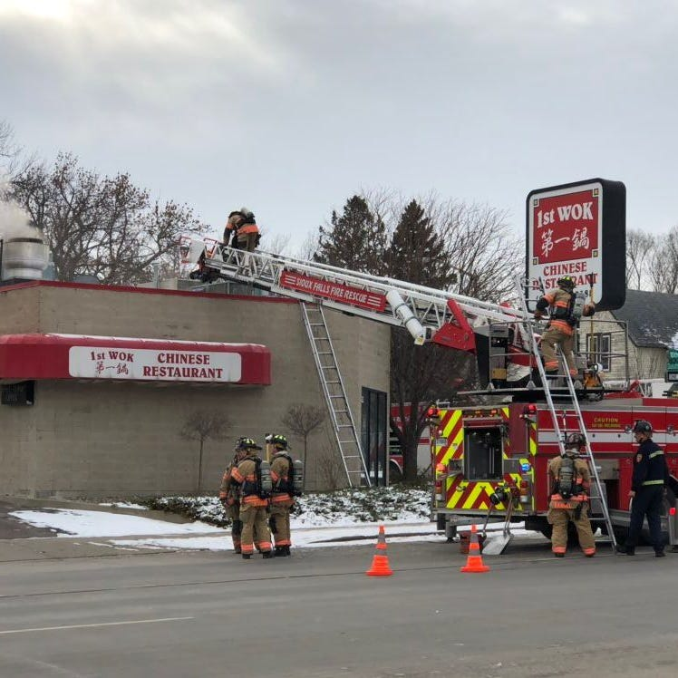 Restaurant damaged by fire near downtown Sioux Falls