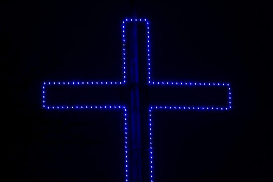 The city of Ozark said Tuesday in a news release that it would take down a cross from the city's holiday lights display in Finley River Park, but shortly afterward reversed course, saying it was too soon to make a decision. In their earlier news release announcing that the cross would come down, Ozark city officials said the choice — now walked back — was prompted by a letter of complaint sent by the Freedom From Religion Foundation, a national advocacy group devoted to the constitutional separation of church and state.