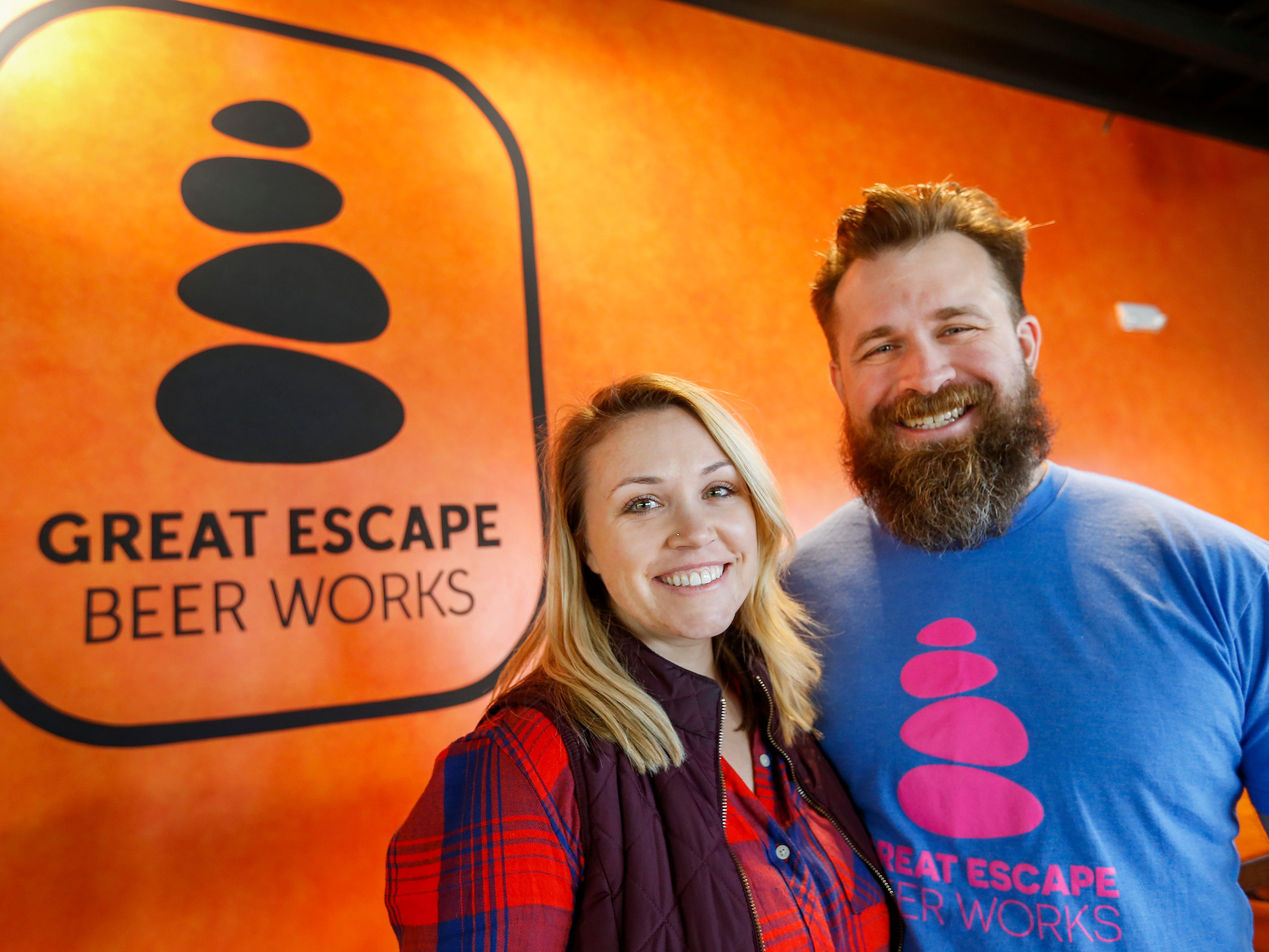 Owners of Great Escape Beer Works want brewery to be a spot for 'meeting new friends'