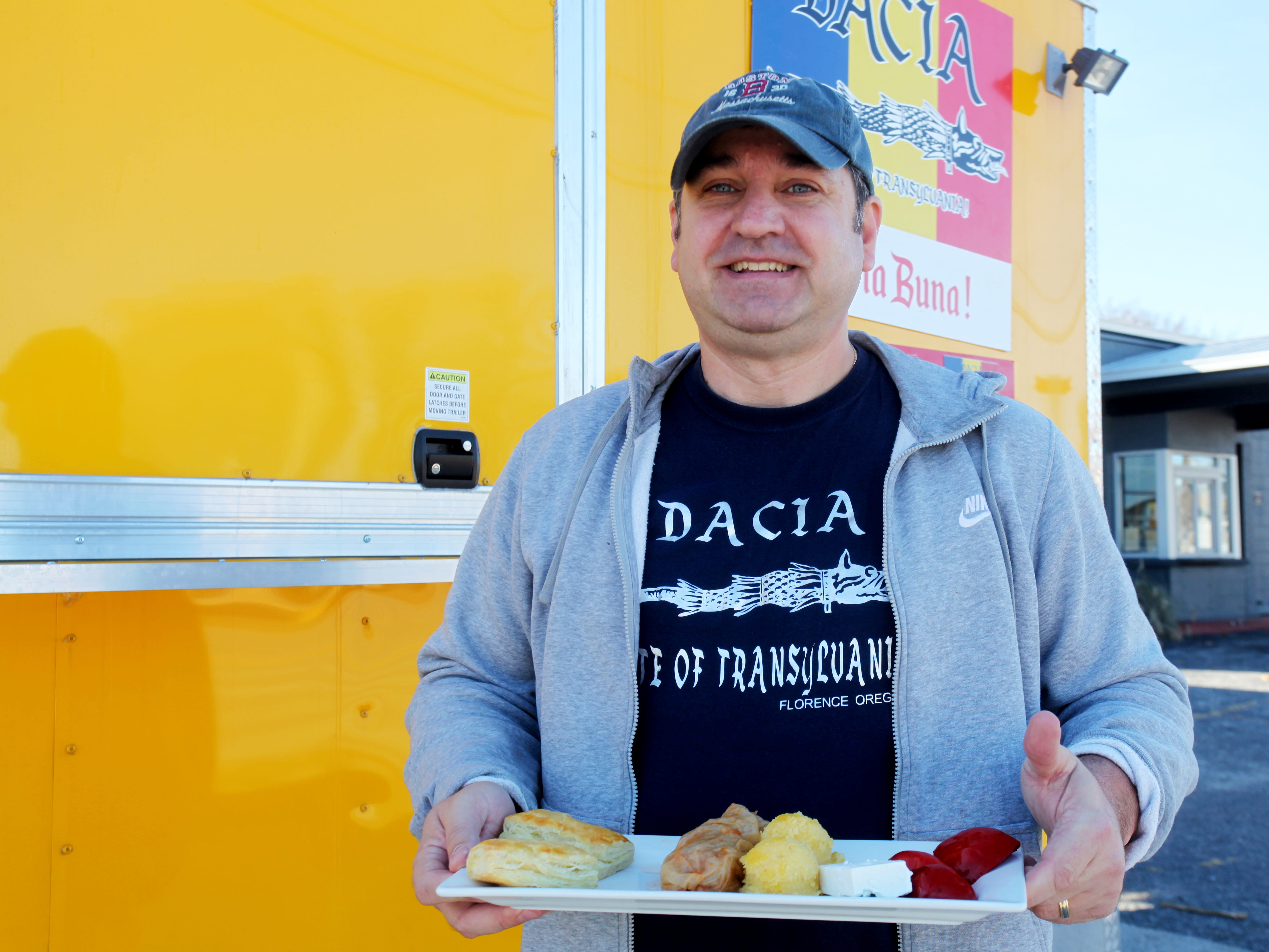 Romulus Manole focuses his cooking on Romanian foods.