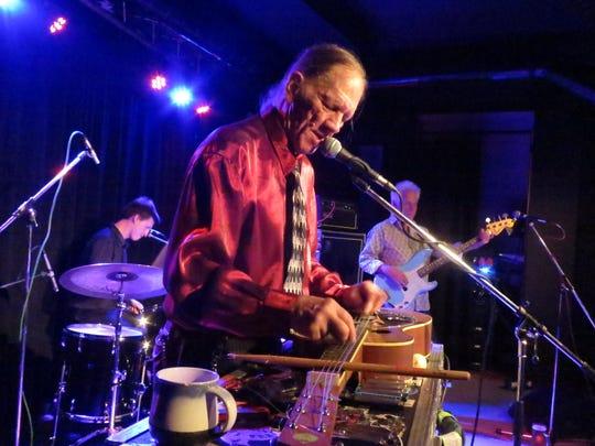 Watermelon Slim is at the Bradfordville Blues Club on Friday night.