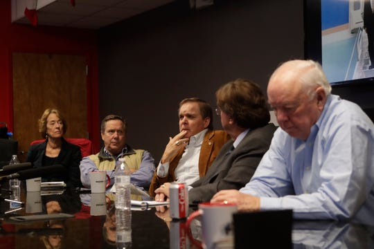 Bud Chiles talks about his father during a gathering to remember Former Governor Lawton Chiles the day before the anniversary of his death at Sachs Media Group Tuesday, Dec. 11, 2018.