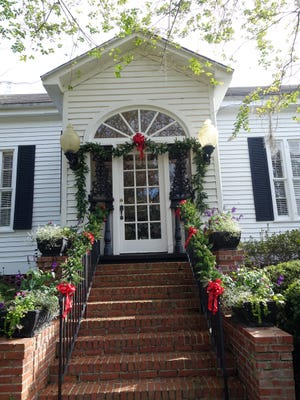 The Rutgers House is decorated for the Garden Club's Christmas Tea, set for Dec. 13.
