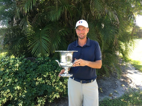 Scott Turner, of Palm City, seen in this file photo, won the Palm Beach Kennel Club County Amateur on Sunday at the Lost Tree Club with a 10-under 206.