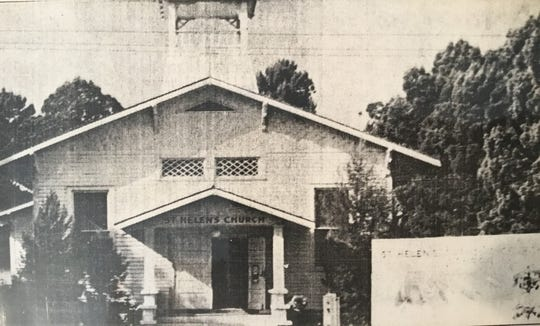 St. Helen Catholic Church circa 1919.