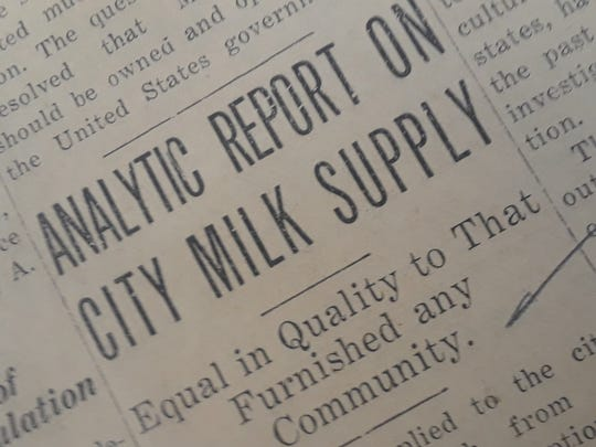 According to the State Board of Health the milk supplied to the citizens of Vero Beach from the local dairies is of exceptional quality.