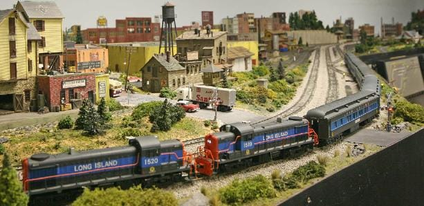 See model trains operating through miniature towns, rail yards and countryside at the Treasure Coast Model Railroad Club's open houses.