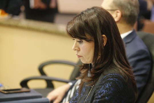 City Attorney Karla Nieman listens during the City Council meeting Tuesday, Dec. 11, 2018.