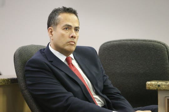 City Manager Tommy Gonzalez listens during the City Council meeting Tuesday, Dec. 11, 2018.