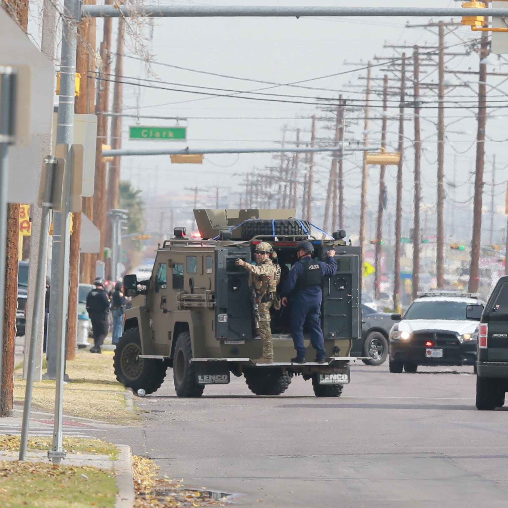 Suspect arrested in South-Central El Paso officer-involved shooting