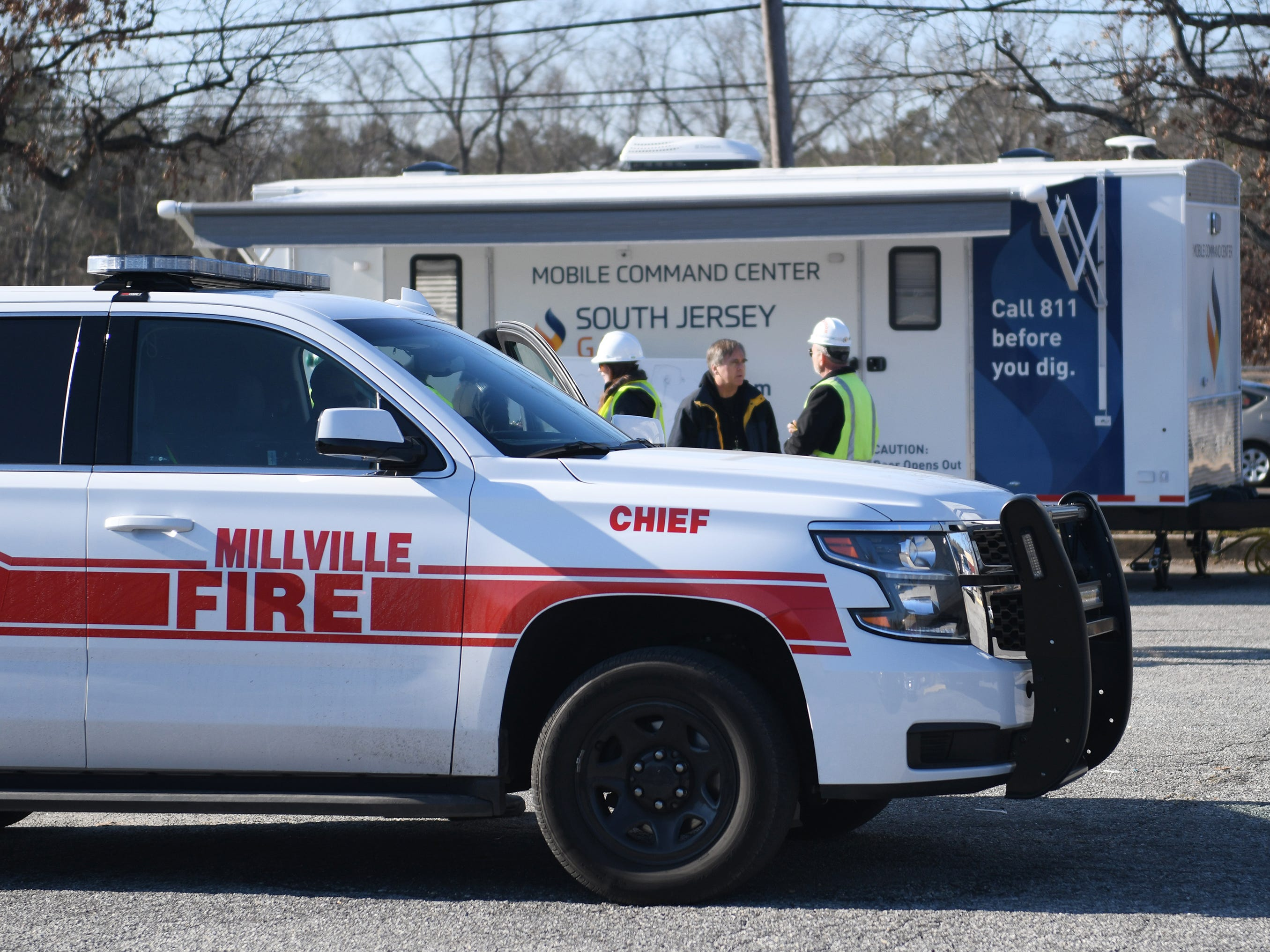South Jersey Gas conducted a gas leak drill on the 1700 block of North 2nd Street in Millville. Members of the fire and police department were on hand to assist with the simulation on Tuesday, December 11, 2018.
