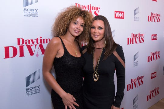 Jillian Hervey of 'Lion Babe' and her mother, Vanessa Williams attend VH1 Daytime Divas Premiere Event  in  2017.