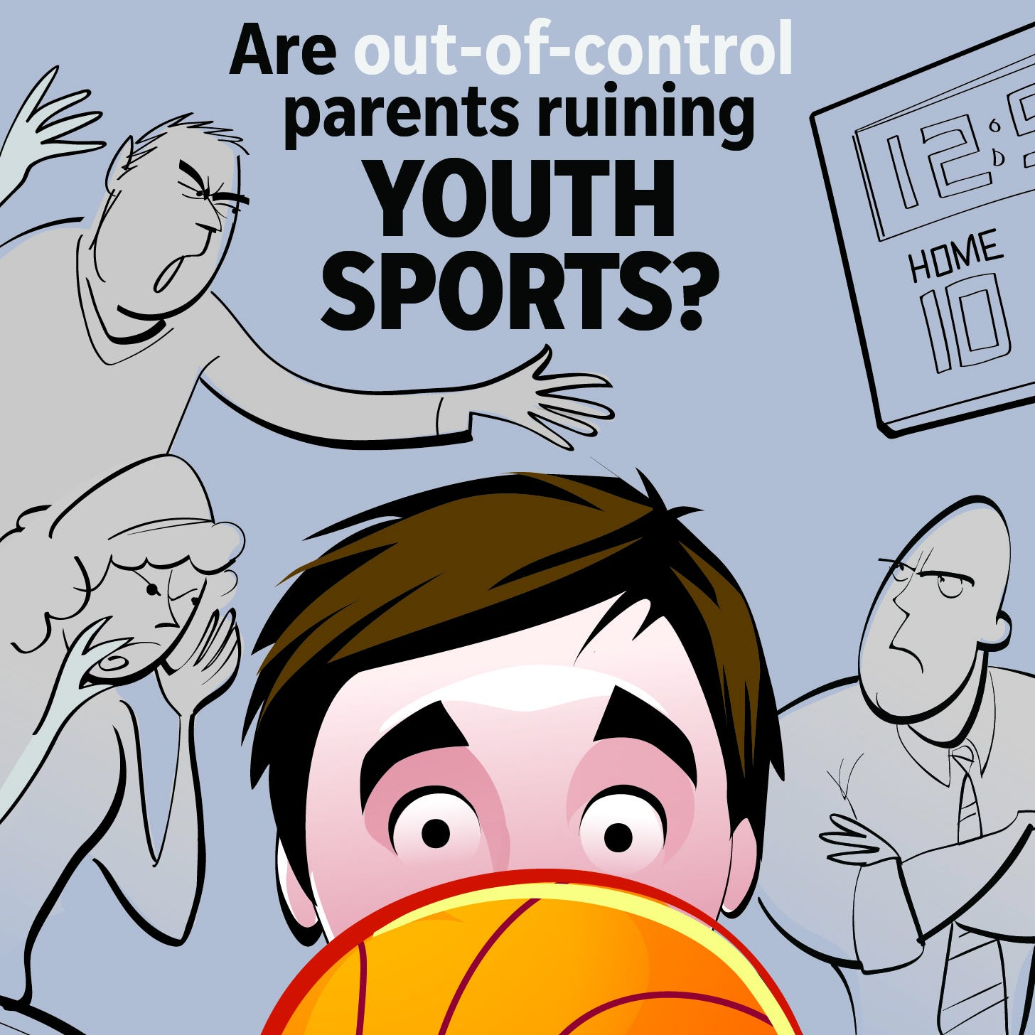 Overbearing parents can take the fun out of sports for their kids