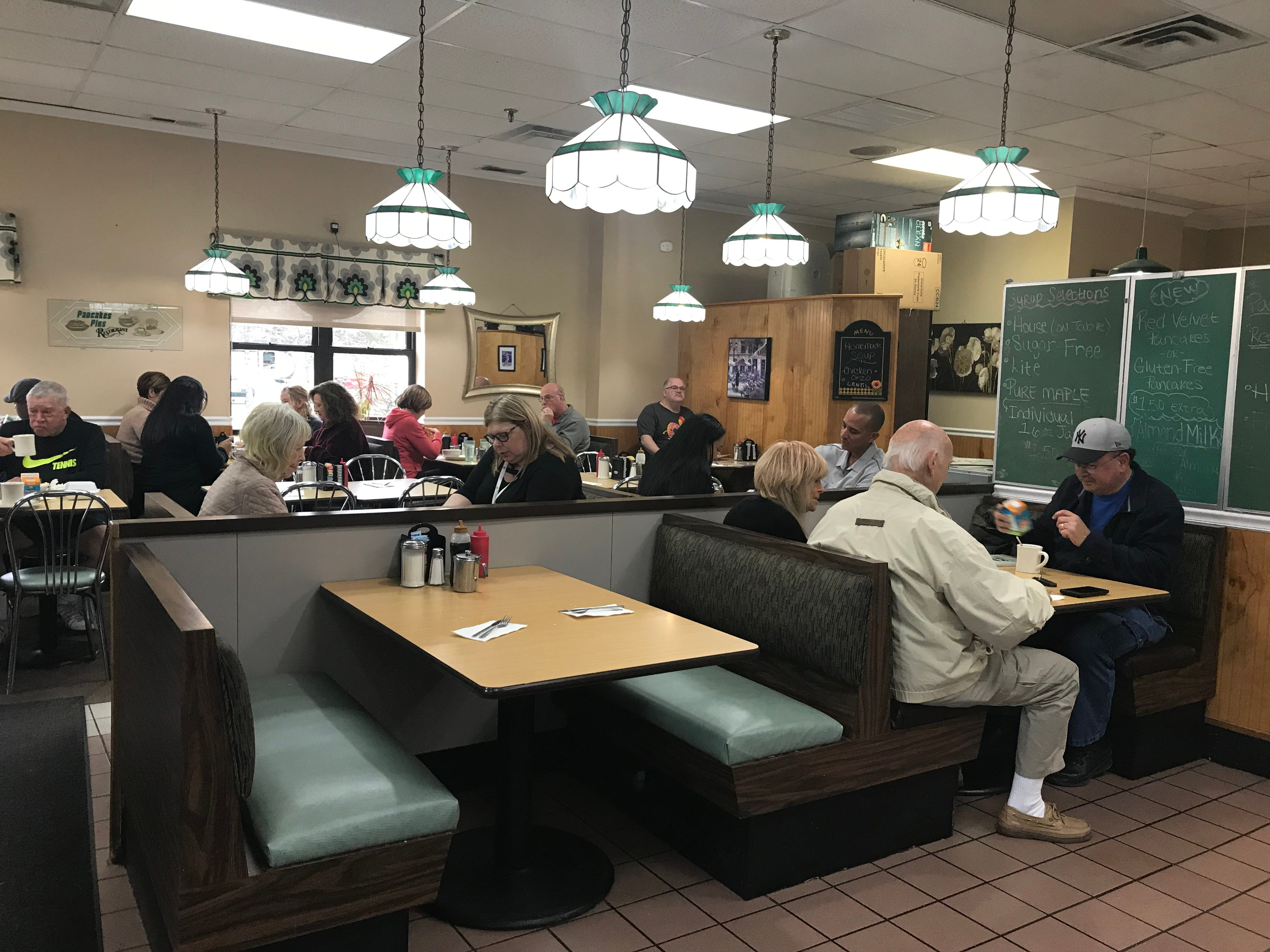 The interior of Pancakes Plus in Nanuet. Photographed Nov. 30, 2018.