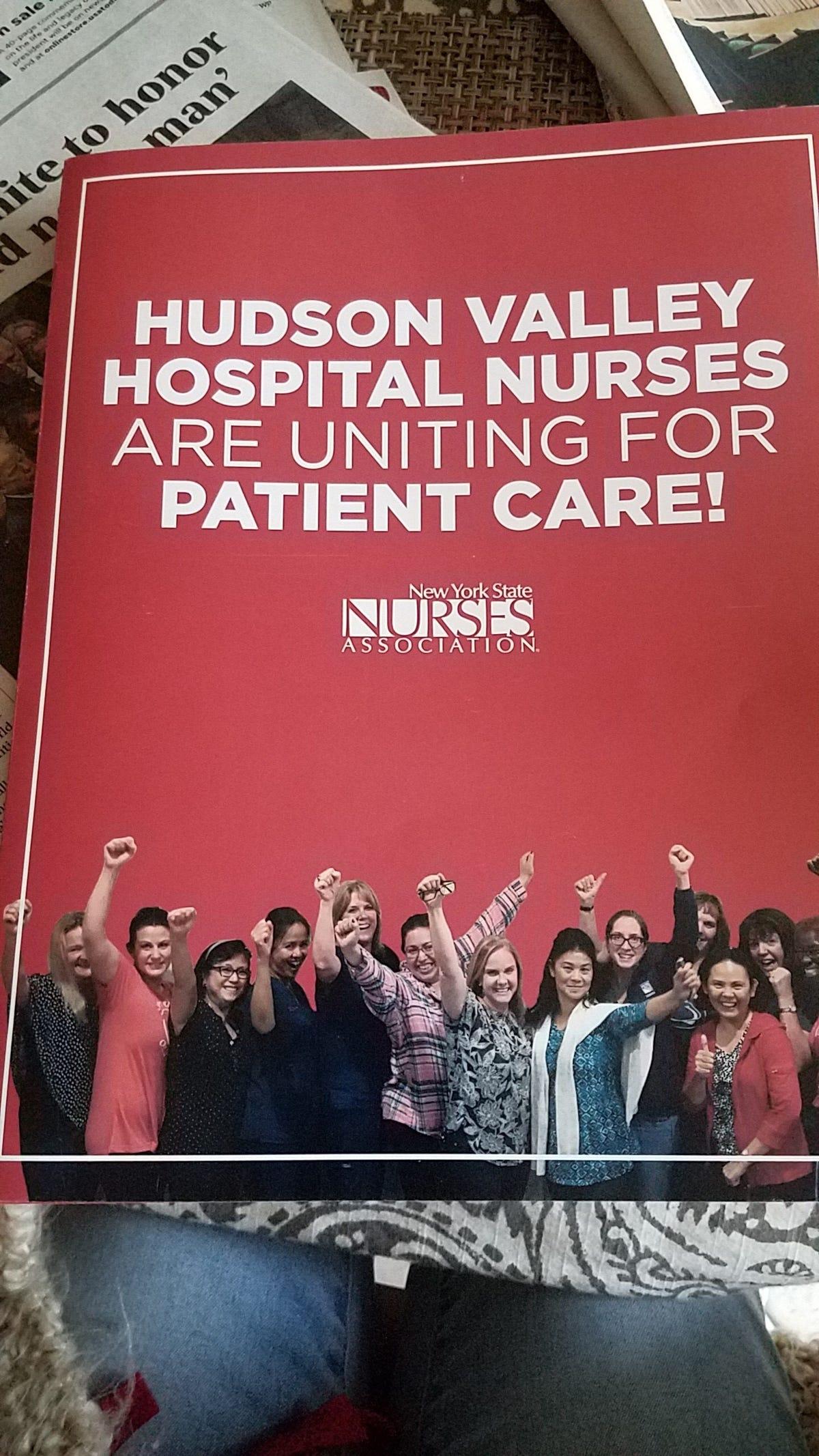 Results of NewYork-Presbyterian Hudson Valley Hospital union vote