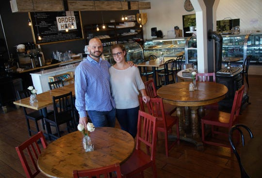 Alex and Gretchen Sianni are the owners of De La Coeur Cafe in Wilmington's Forty Acres.