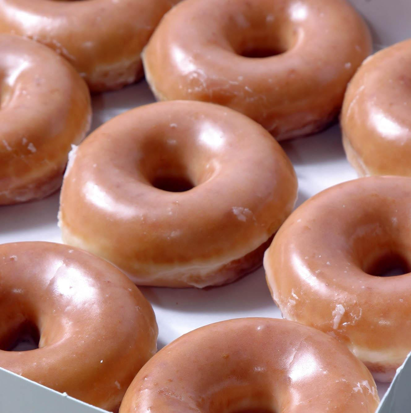 Krispy Kreme's 'Day of the Dozens': Buy a dozen, get dozen Original Glazed for $1