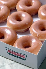 Krispy Kreme aims to give away one million donuts on Friday, June 7.