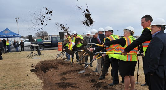 Law Enforcement Center Groundbreaking 1