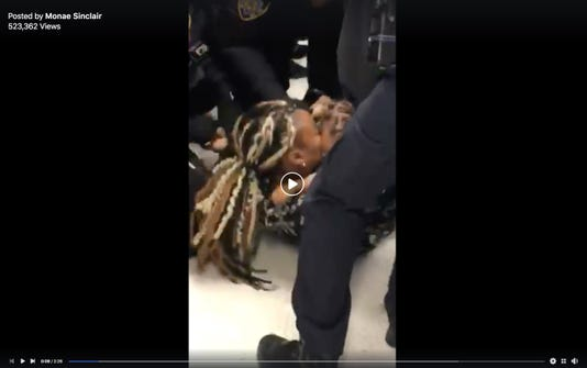 Charges dropped against mom after video shows police yank baby away