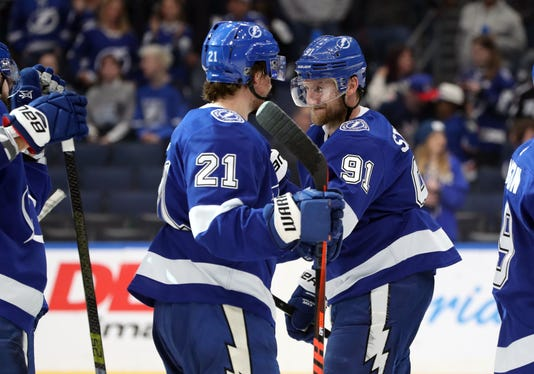 Usp Nhl New York Rangers At Tampa Bay Lightning S Hkn Tbl Nyr Usa Fl