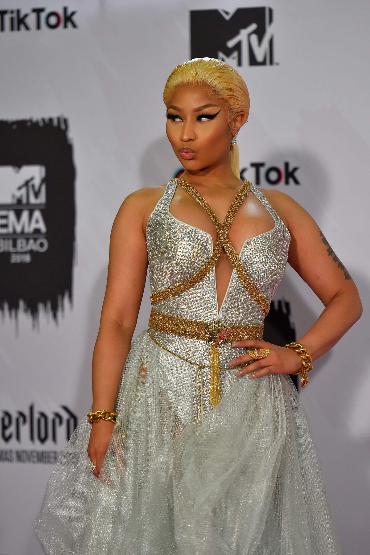 Nicki Minaj, registered sex offender Kenneth Petty Instagram