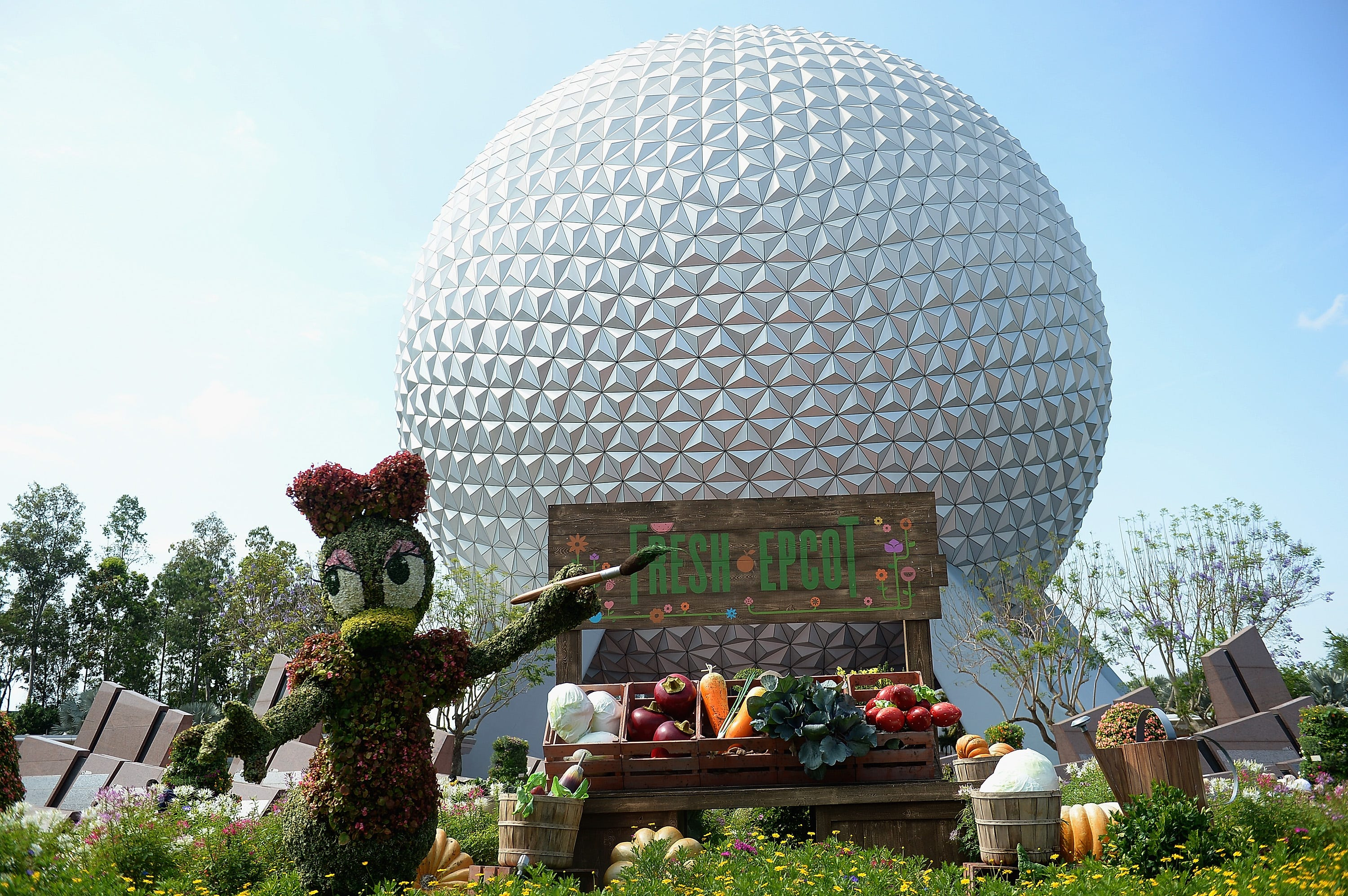 Walt Disney World worker falls to his death in an industrial accident at Epcot