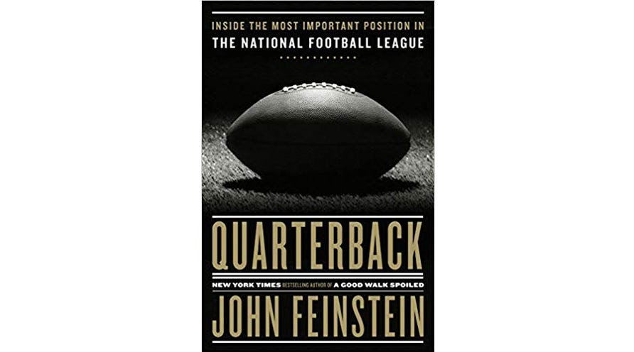 John Feinstein went behind-the-scenes with several NFL QBs for his latest book.