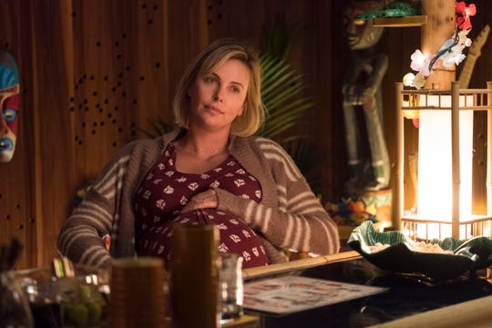 """Charlize Theron stars as an overwhelmed mom in """"Tully."""""""