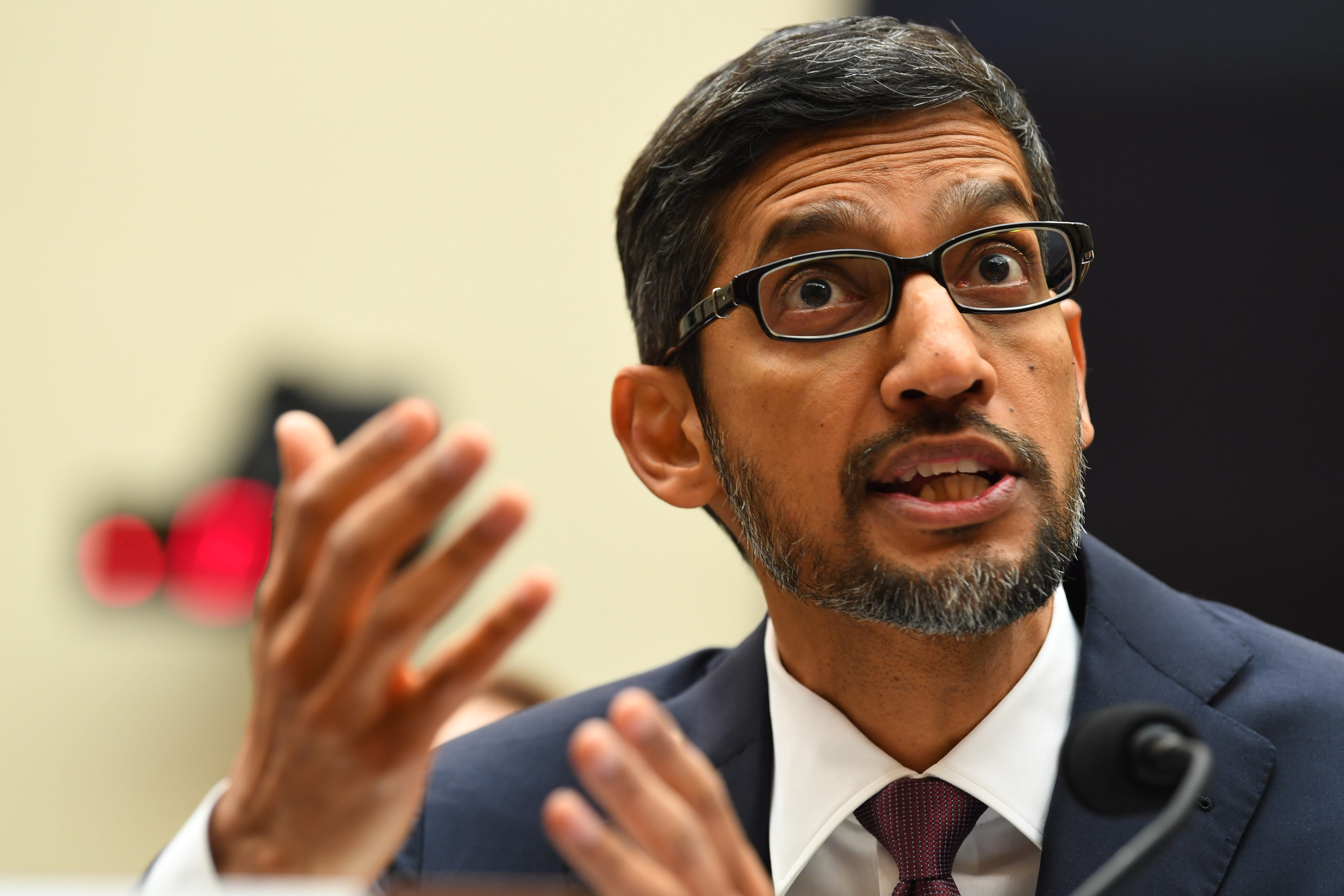 'Offensive and embarrassing': Senators struggle to pronounce Google CEO Sundar Pichai's name correctly
