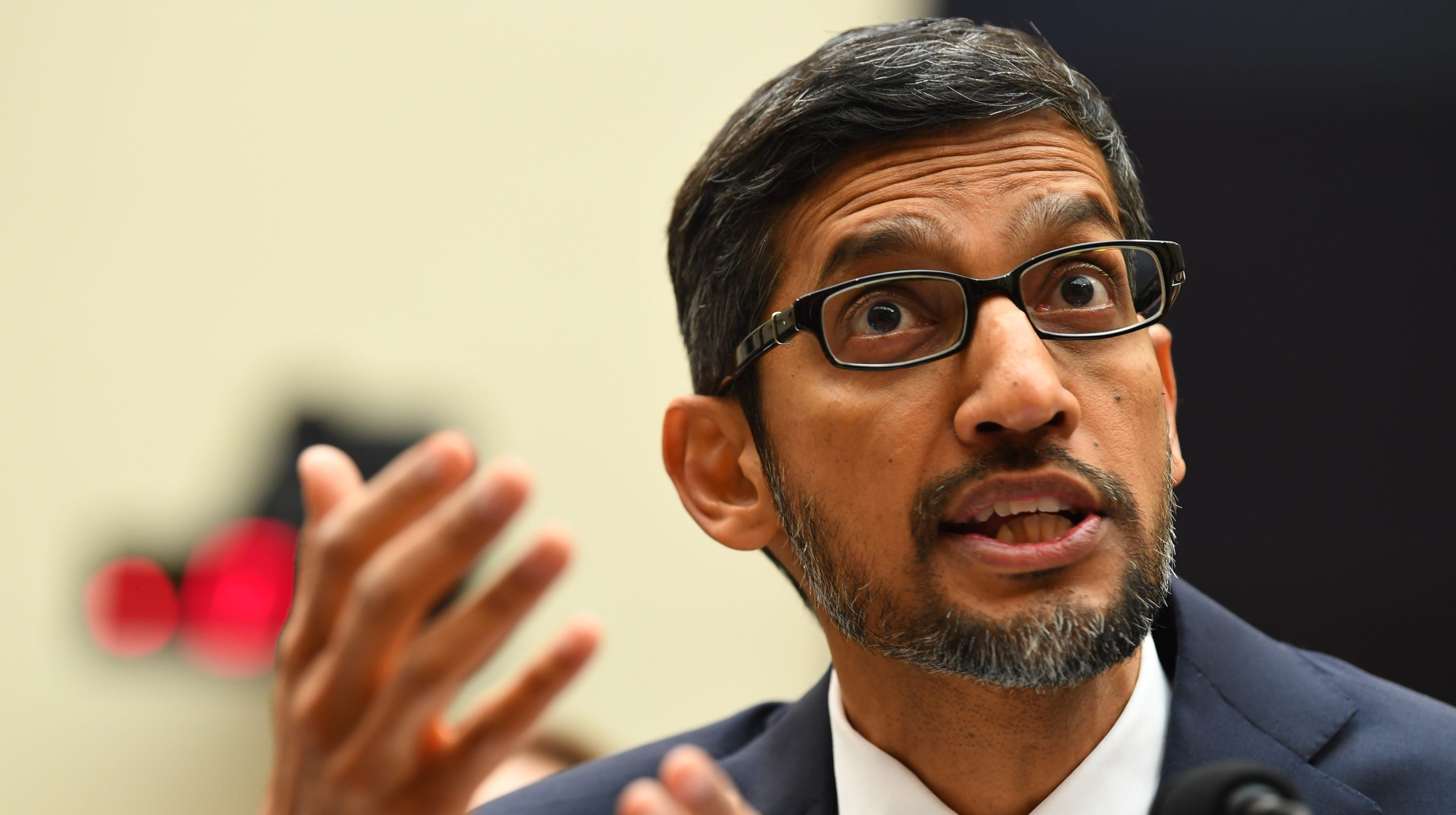 'Offensive and embarrassing': Senators struggle to pronounce Google CEO Sundar Pichai's name correctly – USA TODAY