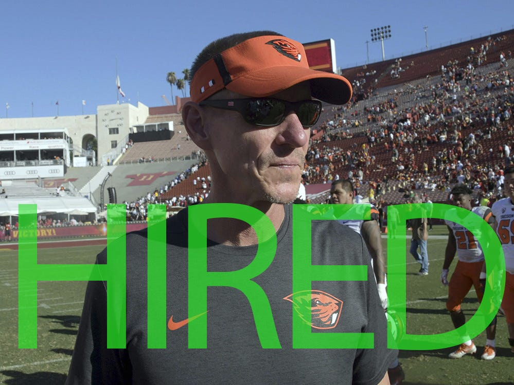 Gary Andersen was hired by Utah State for the second time. He originally led the Aggies from 2009-2012 before going on to coach Wisconsin and Oregon State. He has a 52-54 record at the FBS level.
