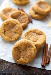Chewy pumpkin snickerdoodles