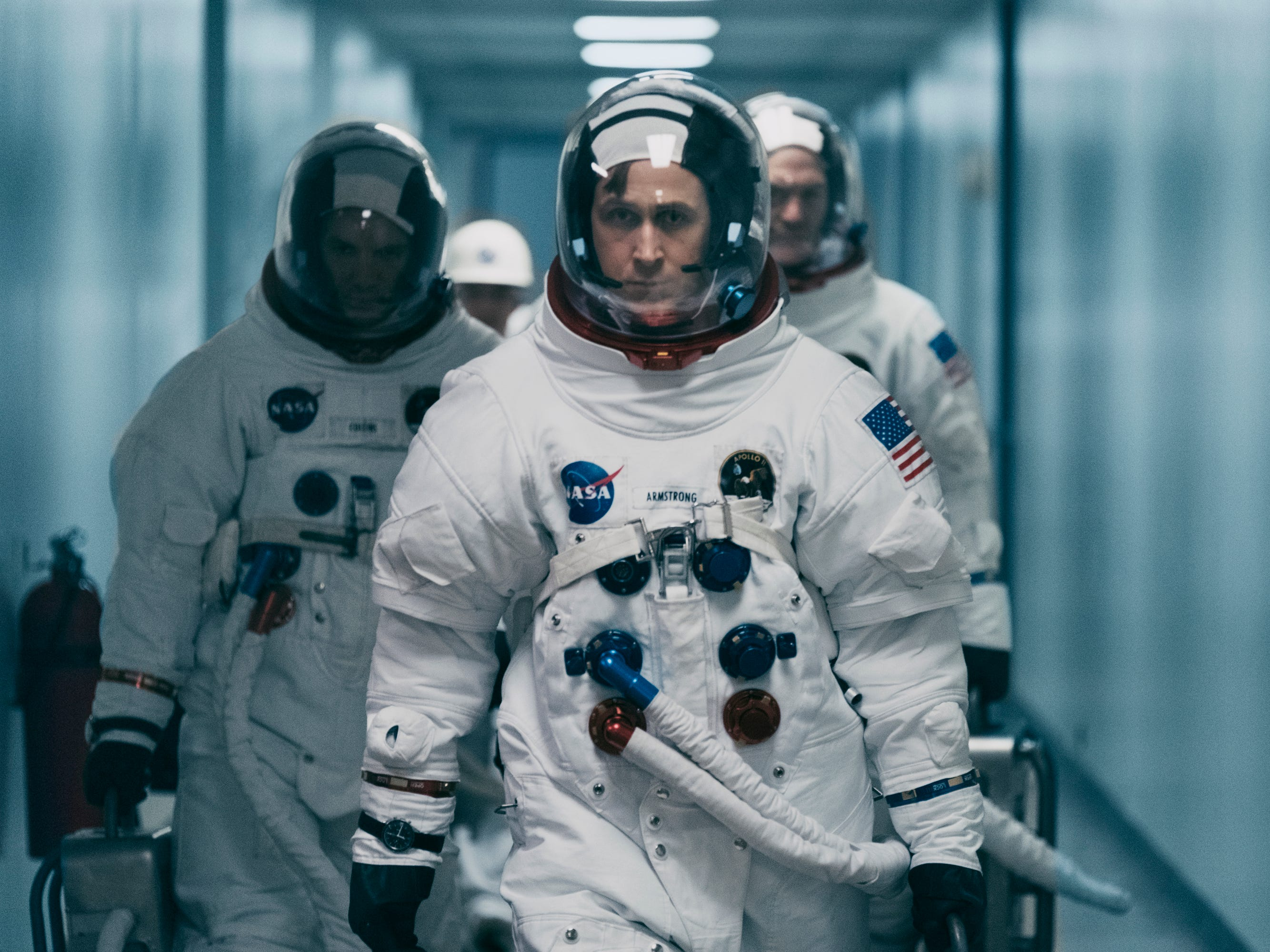 "10) ""First Man""—  Damien Chazelle's criminally underrated Neil Armstrong biopic was both thrilling and illuminating, a fascinating portrait of a reluctant American hero. The most striking feature of the film: Its claustrophobic depiction of space travel. (Streaming Jan. 22)"