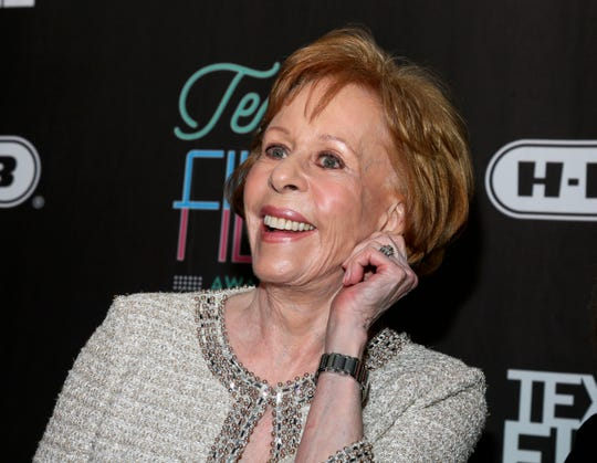The Golden Globe Awards will introduce a new TV special achievement trophy at next month's telecast and name it after its first recipient, comedic icon Carol Burnett, pictured in 2016.