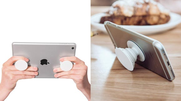 This is perfect for anyone who wishes their phone was practically glued to their hand.