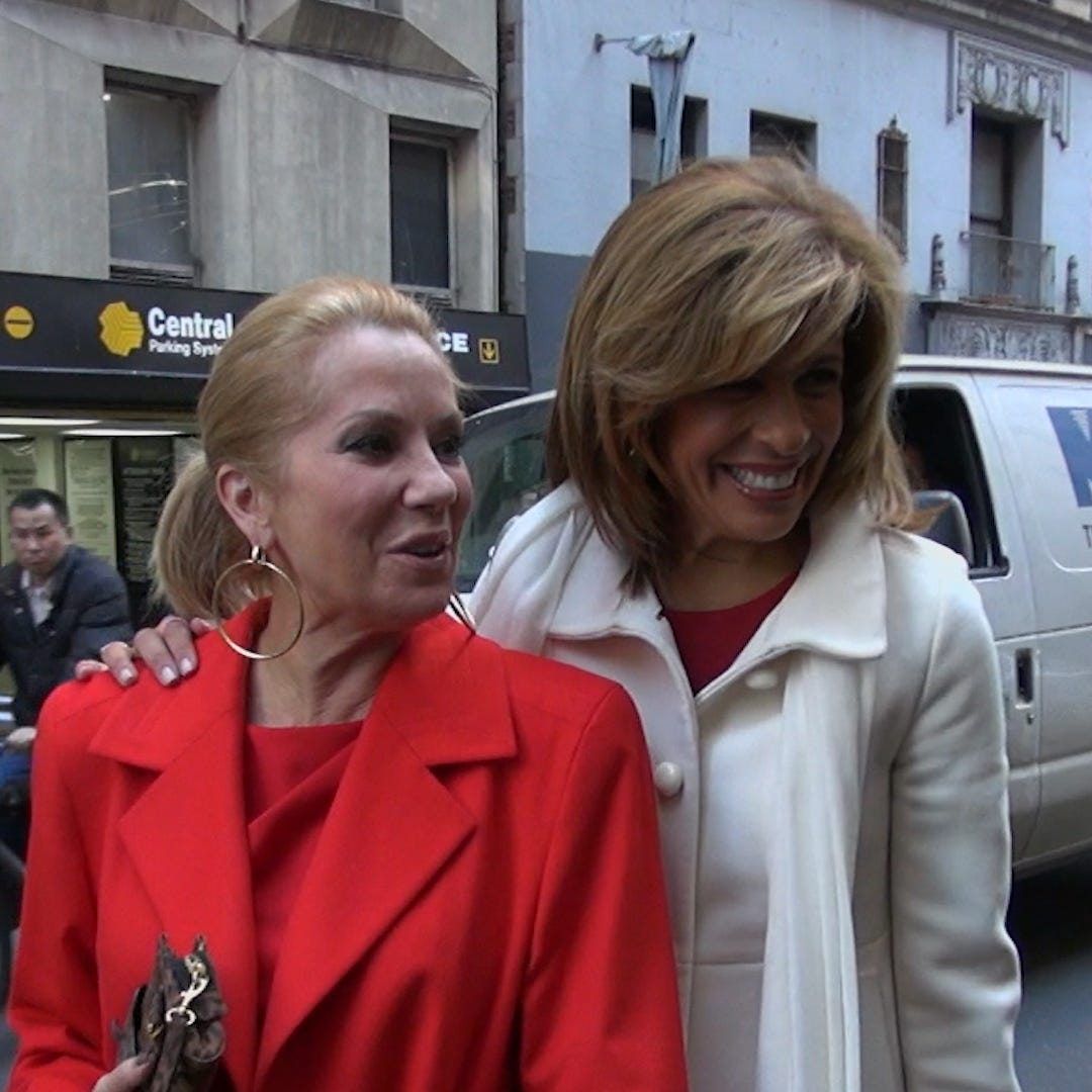 "NBC's ""Today"" show co-hosts Kathie Lee Gifford and Hoda Kotb."